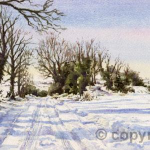 Ridgeway Under Snow