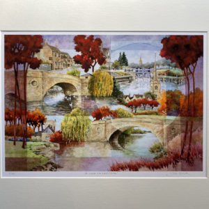 A Look at Lechlade (Giclée Print)