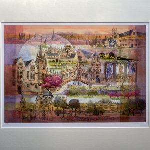 Oxford Fantasy (Giclée Print)