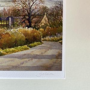 Ridgeway View from Marcham (Giclée Print)