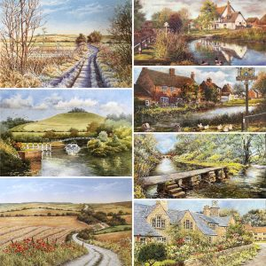 Local Landscape Selection card pack