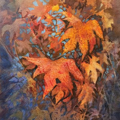 Autumn's Jewels 19x24cm £125 framed